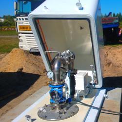 Naziemna termoizolacyjna obudowa studni w wykonaniu ze stali nierdzewnej