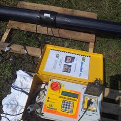 Zgrzewanie elektrooporowe sieci wodnej